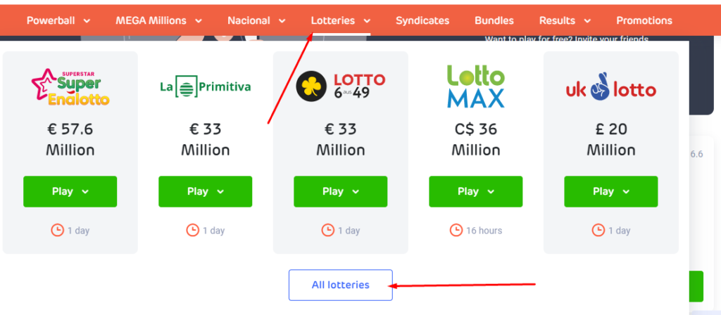 LottoAgent Lotteries To Play With