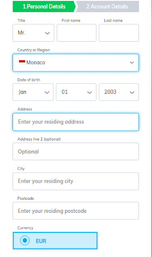 Multilotto Sign up Process